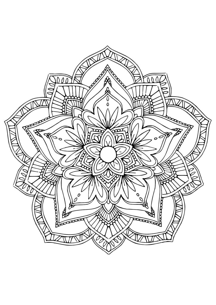 Flower-Mandala-Coloring-Pages-3