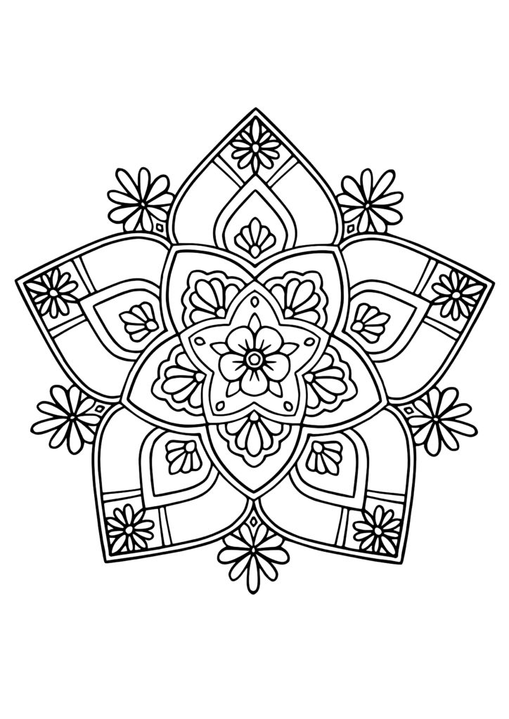 Flower-Mandala-Coloring-Pages-8