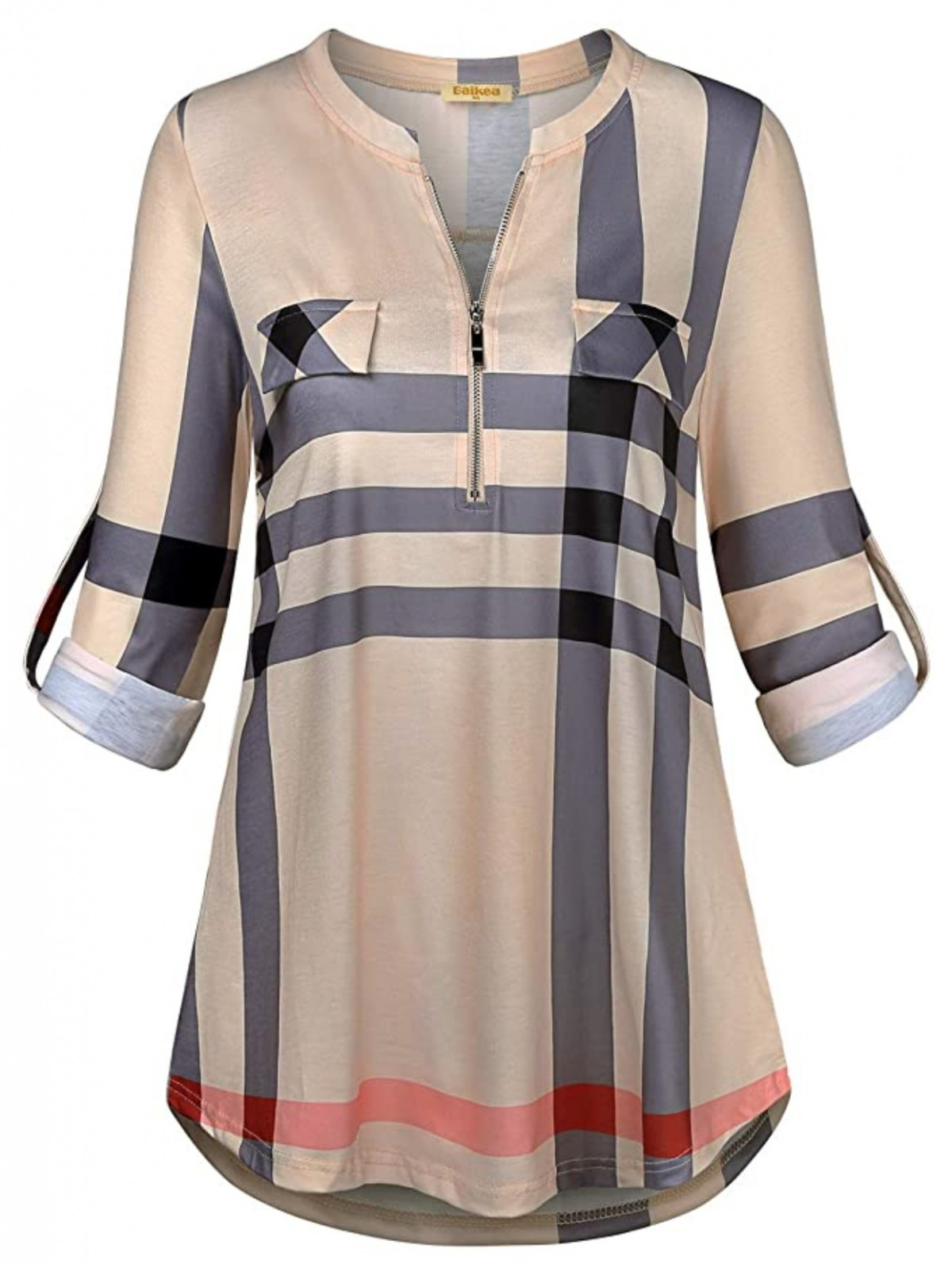 casual tunic blouse for tall women